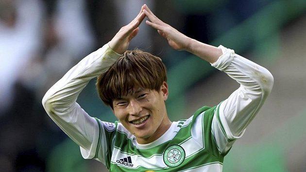 Celtic se dostal do vedení díky trefě Kjoga Furuhašiho.