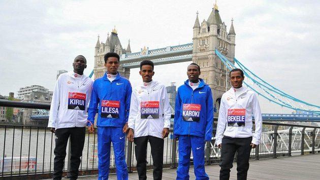 Kenenisa Bekele byl na London Marathon nakonec rád za druhé místo.