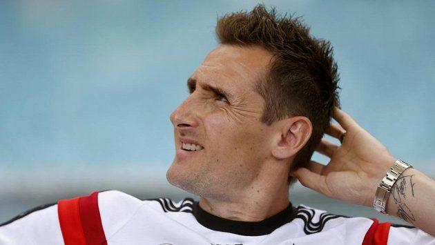 Německý útočník Miroslav Klose.