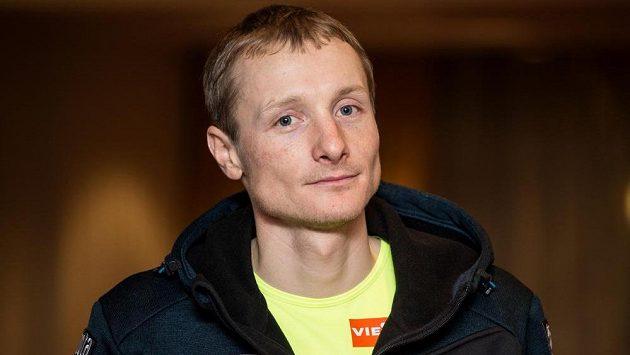 Biatlonista Ondřej Moravec