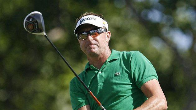 Australský golfista Robert Allenby na archivním snímku.