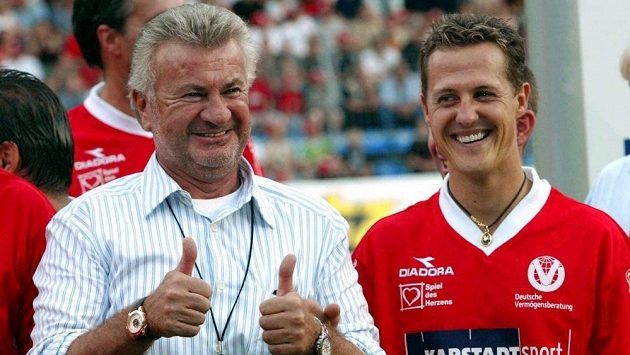 Michael Schumacher a Willi Weber.