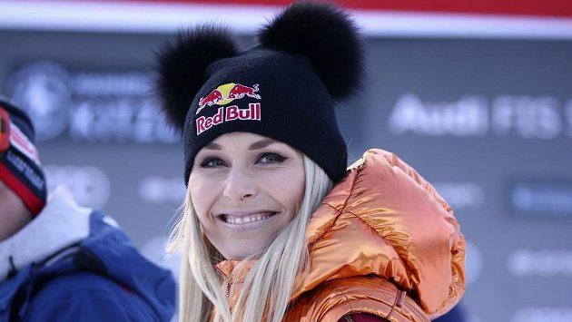 Lindsey Vonnová na snímku z loňského ledna v Kitzbühelu.
