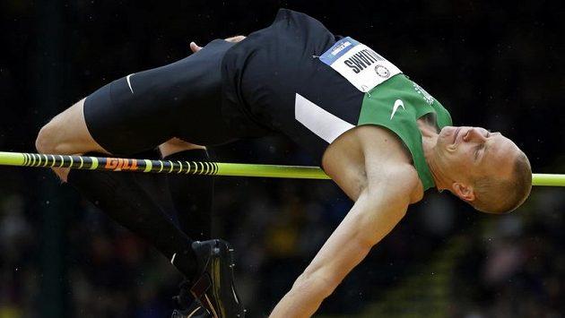 Mistr světa ve skoku do výšky Jesse Williams měl namále.
