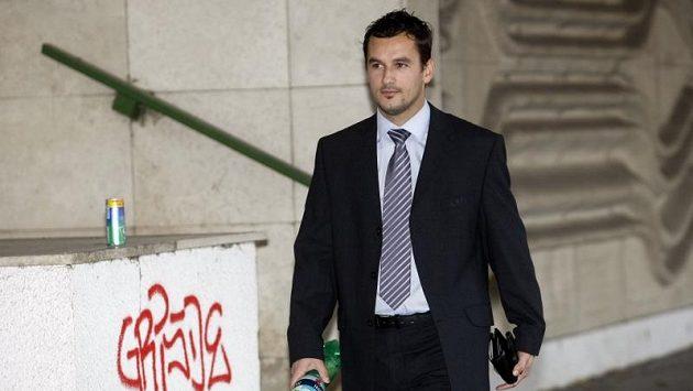 Fotbalový rozhodčí Emanuel Marek v civilu.