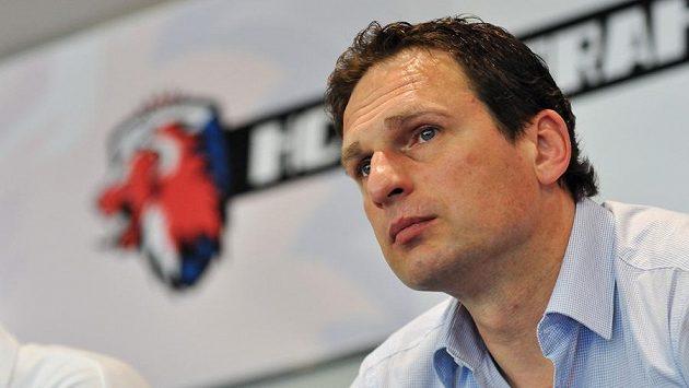 Generální manažer hokejistů Lva Praha Normunds Sejejs.