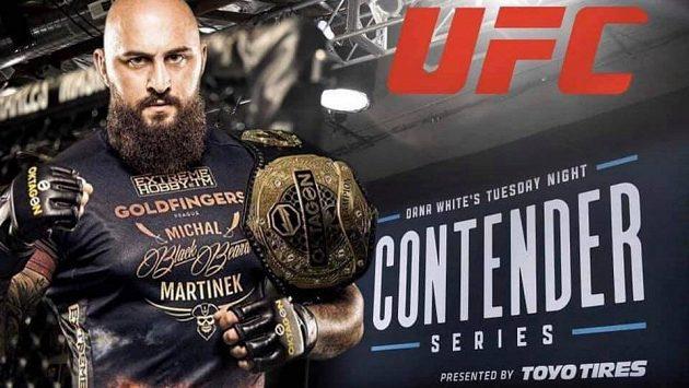 Michal Martínek míří do Ameriky. Uspěje a získá kontrakt s UFC?