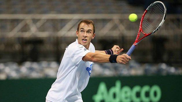 Daviscupový reprezentant Lukáš Rosol.