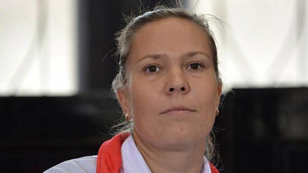 Lucie Hradecká na archviním snímku