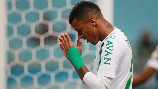 Brazilský fotbalista Arthur z týmu Chapecoense.