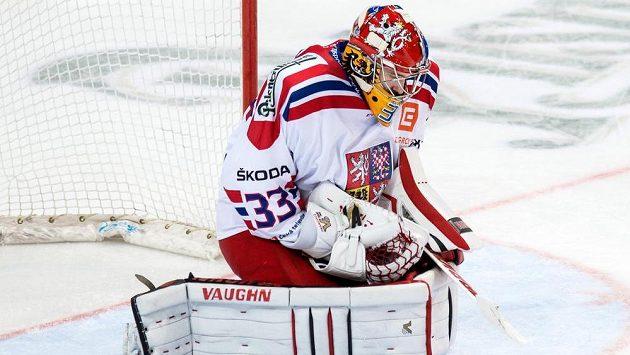 Pavel Francouz v brance českého národního týmu.