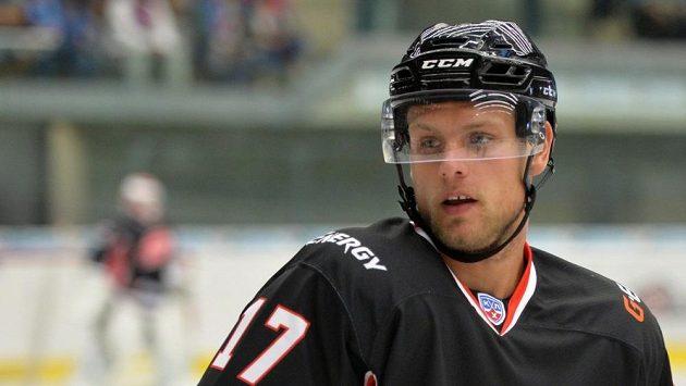 Český hokejový útočník Vladimír Sobotka z Omsku.