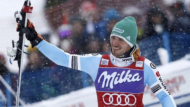Německý lyžař Felix Neureuther.
