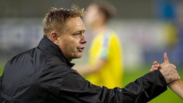 Trenér Teplic Stanislav Hejkal po vítězném utkání s Bohemkou.