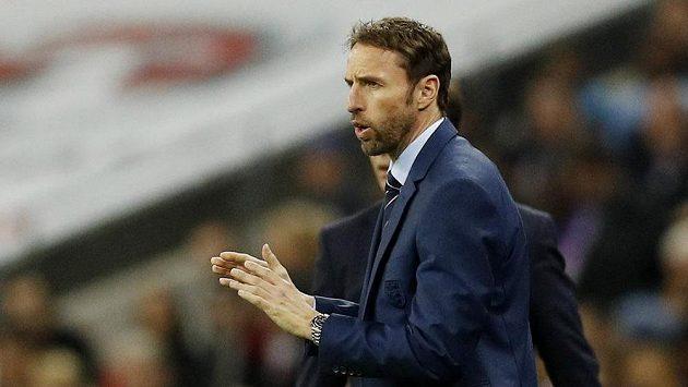 Prozatím stále ještě dočasný trenér anglické fotbalové reprezentace Gareth Southgate.
