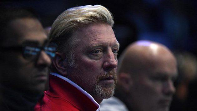 Německý trenér Novaka Djokoviče Boris Becker.