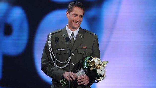Oštěpař Vítězslav Veselý, druhý v anketě Sportovec roku.