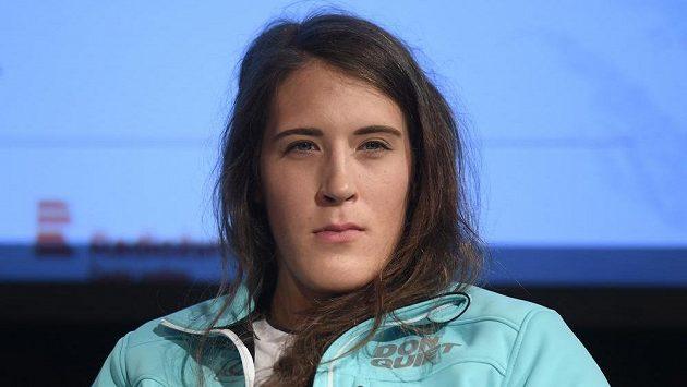 Lyžařka Gabriela Capová před startem sezony.