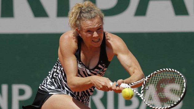 Kateřina Siniaková na letošním French Open.