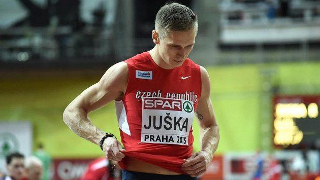 Radek Juška se na halovém mistrovství Evropy v atletice kvalifikoval do dálkařského finále.
