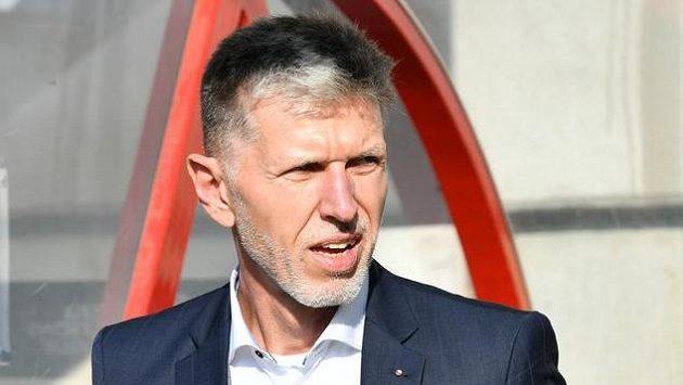 Jaroslav Šilhavý na lavičce národního týmu.