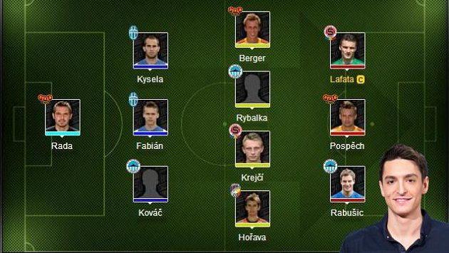 Kapitánem týmu Michala Hrdličky je David Lafata!