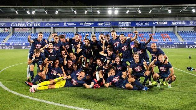 Mužstvo Huescy se po roce vrací do nejvyšší španělské fotbalové soutěže.