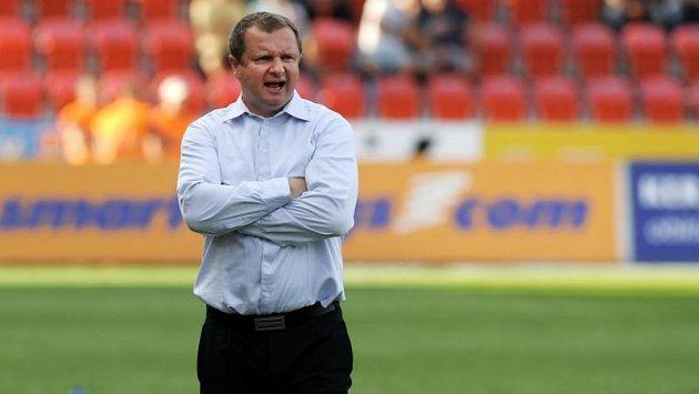Trenér Plzně Pavel Vrba mohl být s výsledkem spokojený.