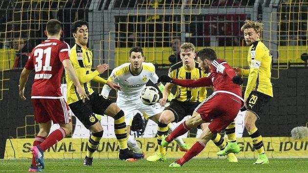 Ze zápasu Dortmund - Ingolstadt.