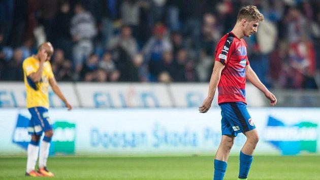 Plzeňský záložník Martin Chrien během utkání s Teplicemi.