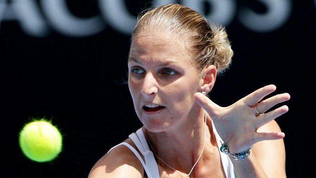 Karolína Plíšková postoupila na turnaji v Antverpách do druhého kola.