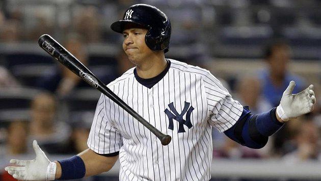 Alex Rodriguez se v dresu New York Yankees kvůli dopingu minimálně rok nepředstaví.