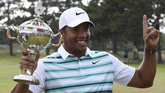 Jhonattan Vegas, vítěz golfového Canadian Open v Oakville.
