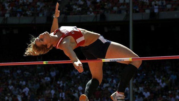Eliška Klučinová v akci na světovém mistrovství v Pekingu.