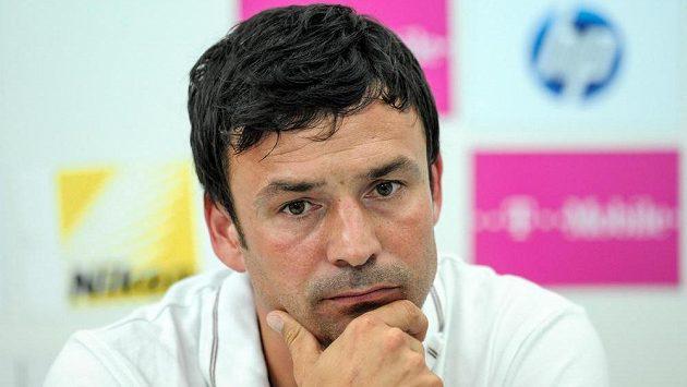 Trenér Slovanu Liberec Samuel Slovák před odvetou s Košicemi nabádá k maximální koncentraci.