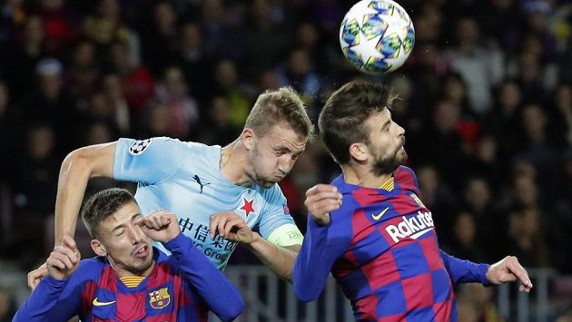 Na předzápasovém tréninku Slavie před duelem Ligy mistrů s Interem Milán nechyběl Tomáš Souček