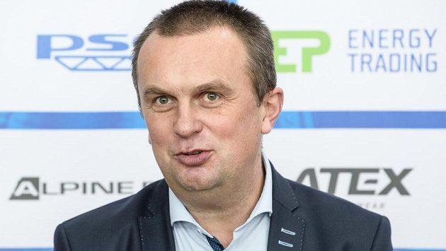 Předseda biatlonového svazu Jiří Hamza.