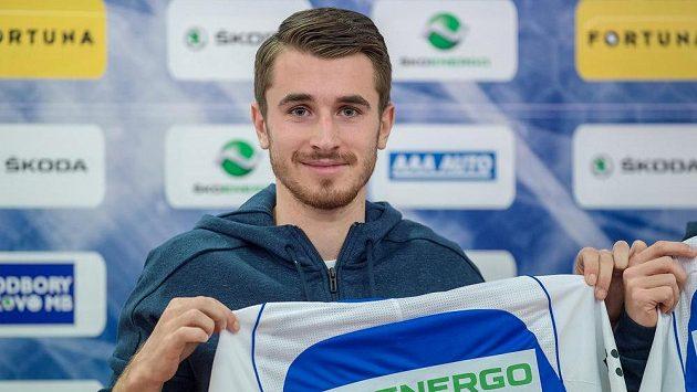 Fotbalista Dominik Mašek po přestupu do Mladé Boleslavi.