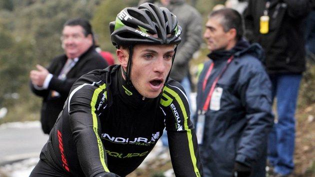 Britský cyklista Johathan Tiernan-Locke.