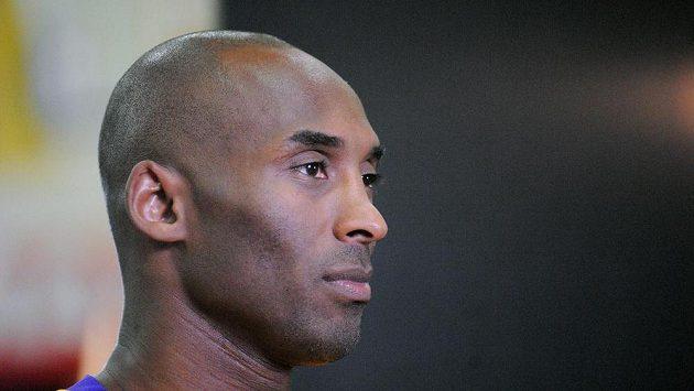 Basketbalová hvězda Los Angeles Lakers Kobe Bryant