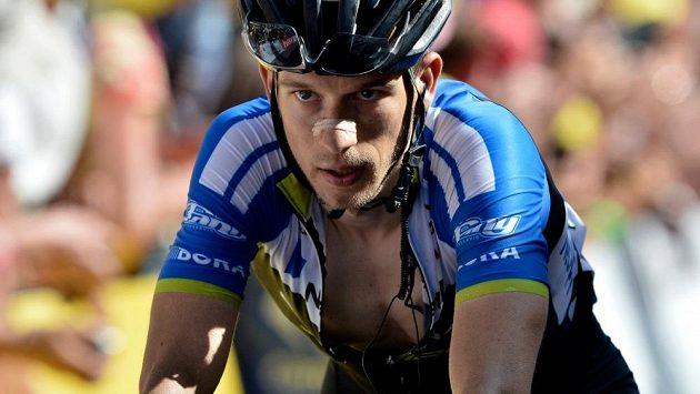Český cyklista Leopold König se na Tour de France vyšvihl na osmé místo průběžného pořadí.