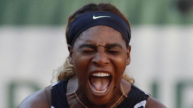 Američanka Williamsová končí na tenisovém Roland Garros.