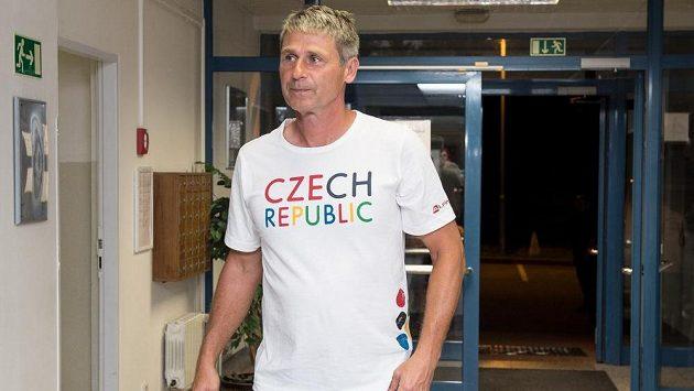 Světový rekordman v hodu oštěpěm Jan Železný.