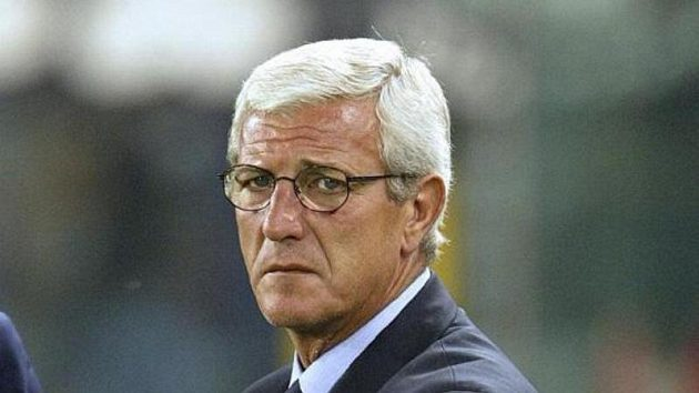 Trenér Itálie Marcello Lippi.