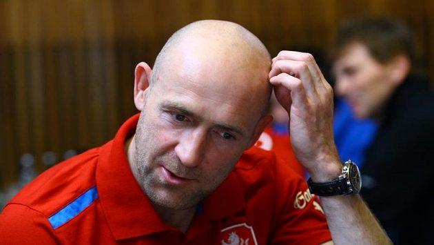 Jiří Štajner na srazu fotbalové reprezentace