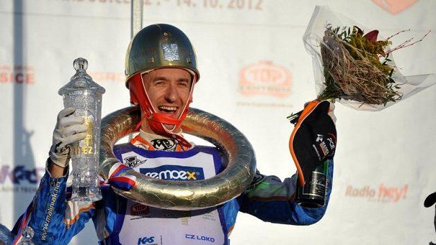 Vítěz Zlaté přilby Grzegorz Walasek z Polska