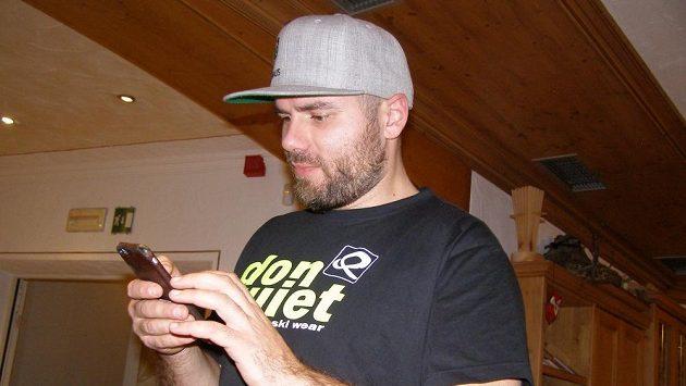 Jan Hudec, český reprezentant v alpském lyžování.