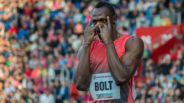 Jamajský sprinter Usain Bolt pravidelně navštěvuje také ostravskou Zlatou tretru.