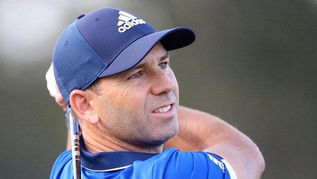 Španělský golfista Sergio García při turnaji v Houstonu.