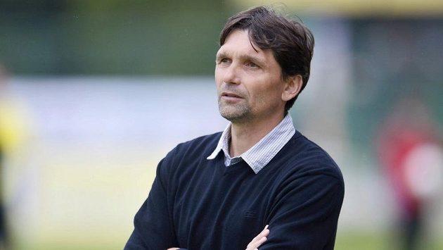 Trenér Olomouce Martin Kotůlek.
